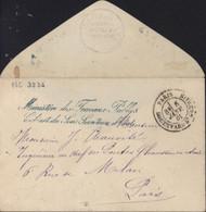 Bureaux Spéciaux Cursive Ministère Travaux Publics Cabinet Du Sous Secrétaire D'état CAD Paris 5 Jan 81 Bd St Germain - 1801-1848: Precursors XIX
