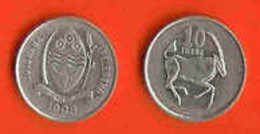BOTSWANA 1998 10 Thebe #277 - Botswana