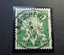 Belgie Belgique -  OPB/COB  N° 675 - Grote V 10 C - Obl. Central - LA DOCHERIE - 1946 - Used Stamps