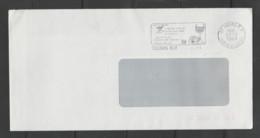 Flamme Dpt 37 : TOURS RP (SCOTEM N°  9752 Du 28/11/1988 => 25/01/1989) : Sécurité Routière - Ne Pas Boire Avant Conduire - Mechanical Postmarks (Advertisement)