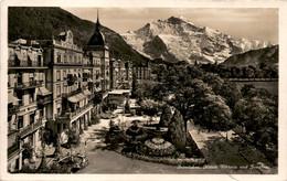 Interlaken - Hotels Viktoria Und Jungfrau (5001) * 31. 7. 1929 - BE Berne