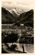 Interlaken Mit Jungfrau (4951) - BE Berne