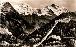 Interlaken, Heimwehfluh Mit Jungfraugruppe (8592) - BE Berne