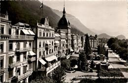 Interlaken - Hotels Viktoria Und Jungfrau (7657) - BE Berne