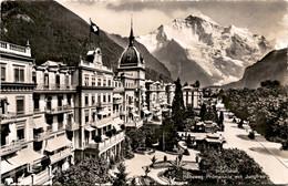 Interlaken - Höheweg Promenade Mit Jungfrau (594) - BE Berne