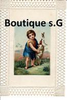 Image Pieuse Croyance Religion Enfant Souvenir De Monsieur Le Curé De Saint St Blier - Devotion Images