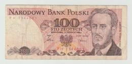 Used Banknote Polen-poland 100 Zlotych 1986 - Polonia