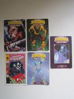 5 Cartes - Marvel SPIDER-MAN TOWER OF POWER - Marvel