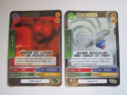 2 Cartes BEYBLADE  146 ROCK LEONE - 226 ROCK ORSO - Other