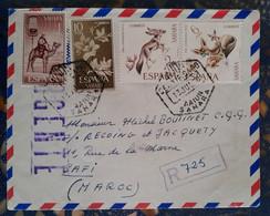 El Haiun Aoe Espagne Pour Safi Maroc(le 15 07 1970) Espagne - 1971-80 Covers