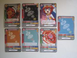 7 Cartes BEYBLADE - Other