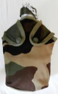 Gourde Militaire Avec Son Quart Et Sa Housse Camouflée - Lot Neuf - Equipement