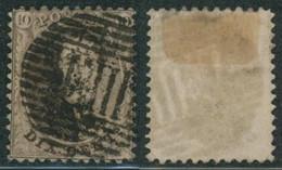 Médaillon Dentelé - N°14 Obl Ambulant E.III (Est N°3) - 1863-1864 Medallions (13/16)