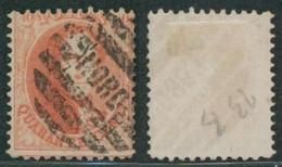 Médaillon Dentelé - N°16 Obl P NORD (Bruxelles Nord) - 1863-1864 Medallions (13/16)