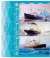 Poland 2021 Polish Transatlantics  Polonia Pulaski Kosciuszko Full Of Set  Stamps MNH** - Ships