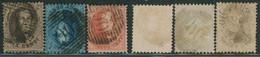 """Médaillon Dentelé - Série Complète çàd N°14/16 Obl P90 """"Ostende"""" - 1863-1864 Medallions (13/16)"""