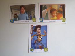 3 Cartes DISNEY PIXAR TOY STORY 3 CACHE-CACHE - WOODY - Disney