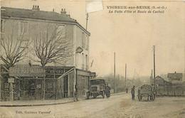 VIGNEUX SUR SEINE La Patte D'Oie Et Route De Corbeil - Vigneux Sur Seine