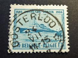 Belgie Belgique 1946 -  OPB/COB  N°  725  - 1.35 Fr - Obl. Central étoille * - OOSTERLOO - Used Stamps