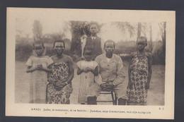 Congo Belge - Amadi - Judoc, Le Menuisier, Et Sa Famille - Postkaart - Belgian Congo - Other