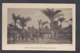 Congo Belge - Amadi - Village Des écoliers - Postkaart - Belgian Congo - Other