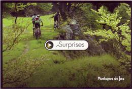 (39). Jura. Serie Surprise. Balade En VTT Sur Le Parcours De La Forestière Vélo & Sortie En Raquettes - Ohne Zuordnung