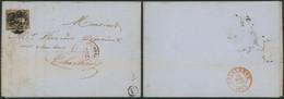 """N°6 En Touché Sur LAC Obl P149 çàd Solre-S-Sambre + Boite Rurale """"U"""" (Usine Métallurg) > Négoc. En Charbons à Chjarleroy - 1851-1857 Medaglioni (6/8)"""