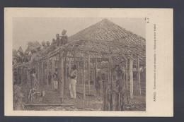 Congo Belge - Amadi - Construction D'une Echapelle - Postkaart - Belgian Congo - Other