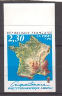 Institut Géographique National YT 2662 De 1990 Bord De Feuille Sans Trace Charnière - Ongetand