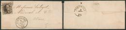 Médaillon Dentelé - N°14 Sur LAC Obl Pt 298 çàd Pommeroeul (1864) > Wiers, Audeval & Cie - 1863-1864 Medallions (13/16)