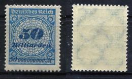 D. Reich Michel-Nr. 330P Postfrisch - Nuevos