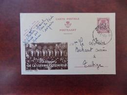 """EP Belgique Publibel 709 """" Tirage Loterie Coloniale """" - Soignies 1948 - Mr Mottin Marcel - Publibels"""