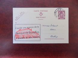 """EP Belgique Publibel 641 """" Banque De Bruxelles """"  - Nivelles 1947 - Publibels"""