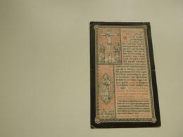 Doodsprentje ( 8148)  Messely  /  Boonefaes     -   Gistel  Kuurne   -  1889 - Avvisi Di Necrologio