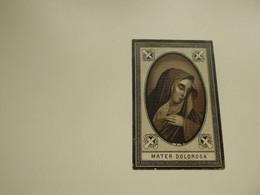 Doodsprentje ( 8149) Zuster Popelier      -   Kortrijk   Gistel     -  1889 - Avvisi Di Necrologio