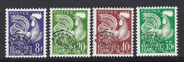 Yv Préos  109-113-116-118  ** - 1953-1960