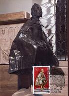 65663 Hungary,  Maximum 1982 Sculpture Of St. Stephan  The King Of Hungary - Sculpture