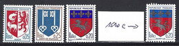 Yv 1468/9-1510-1510c   Armoiries De Villes   ** - 1941-66 Coat Of Arms And Heraldry