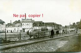 PHOTO ALLEMANDE - LE CANAL DE LA DEULE A LILLE NORD - GUERRE 1914 1918 - 1914-18