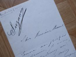 Suzanne REICHENBERGER Actrice - Autographs