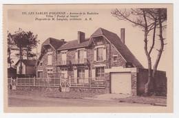 85 - LES SABLES-D'OLONNE - AVENUE DE LA RUDELIÈRE, VILLAS  POULOT ET SINETTE - Sables D'Olonne