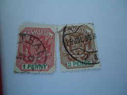 ZEGEL  GERMANY STATE  USED STAMPS WITH POSTMARK 1898 - Ohne Zuordnung