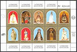 Venezuela Sc# 1338 MNH Souvenir Sheet 1985 Christmas - Venezuela