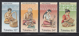 1982 Tokelau Handicrafts  Complete Set Of 4 MNH - Tokelau