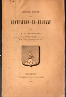 Montfaucon En Argonne (55 Meuse)  Courte étude Par Cl Bonnabelle 1888  (M2509) - Champagne - Ardenne