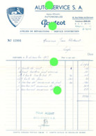 VERVIERS 1957 GARAGE PEUGEOT / AUTO SERVICES Rue Peltzer De Clermont - Automovilismo