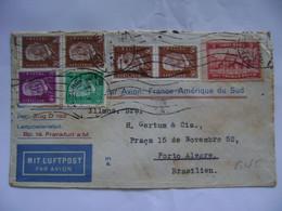 GERMANY - LETTER SENT FROM HAMBURG VIA AEROPOSTALE TO PORTO ALEGRE (BRAZIL) IN 1931 IN THE STATE - Andere