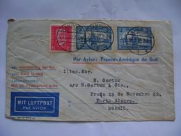 GERMANY - LETTER SENT FROM HAMBURG VIA AEROPOSTALE TO PORTO ALEGRE (BRAZIL) IN 1930 IN THE STATE - Andere