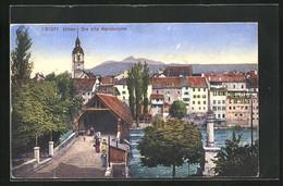 AK Olten, Die Alte Aarebrücke - SO Solothurn