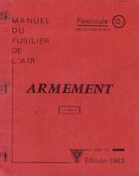 Livret D'instruction élève Officier Armée De L'air BA 720 Caen-Carpiquet - Armement - 1963 - Otros